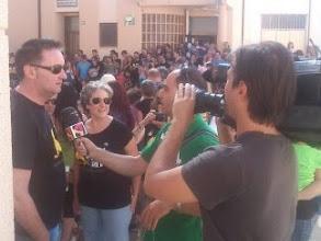 Photo: Antena Aragón nos visitó
