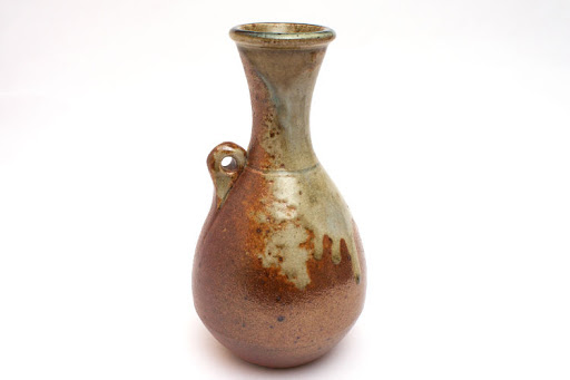 John Leach Ceramic Wood Fired Bottle
