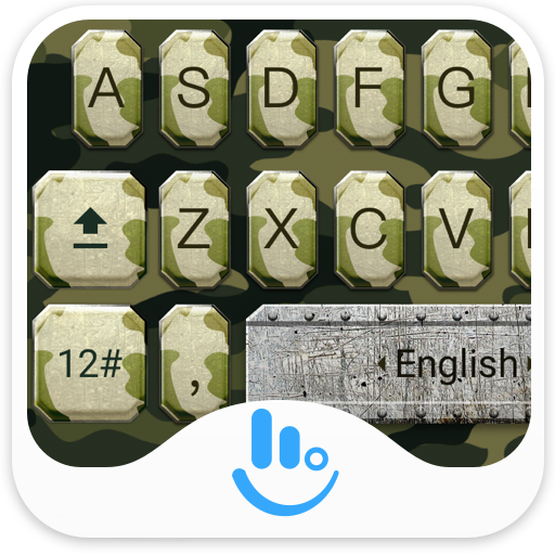 Army Soldier Keyboard Theme