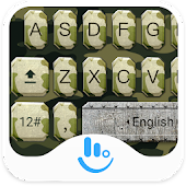 Army Soldier Keyboard Theme