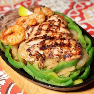 Bourbon Street Chicken & Shrimp.