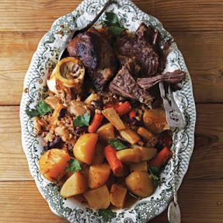 Jewish Beef Stew (Cholent).
