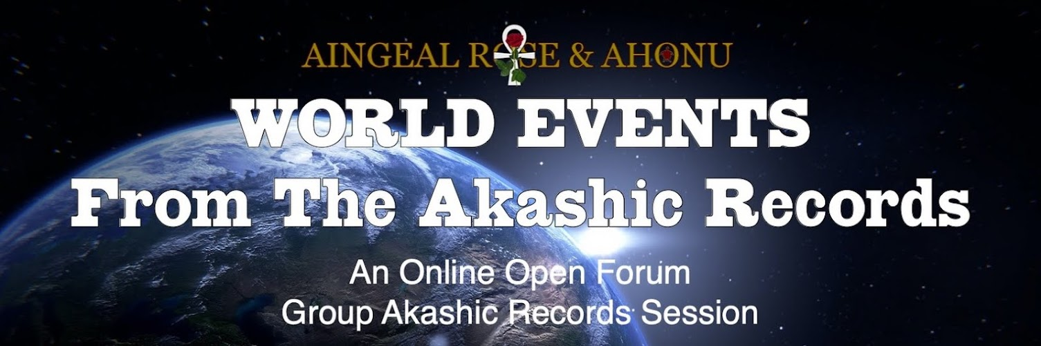 Current World Events in the Akashic Records!