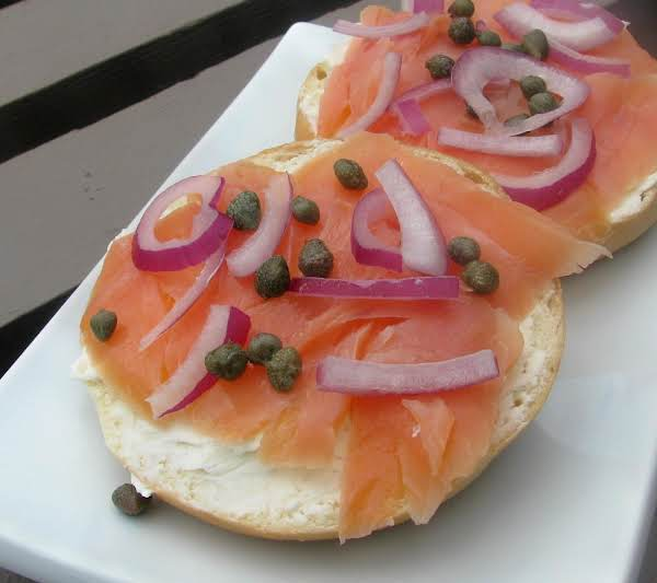 bagel with lox recipe just a pinch recipes