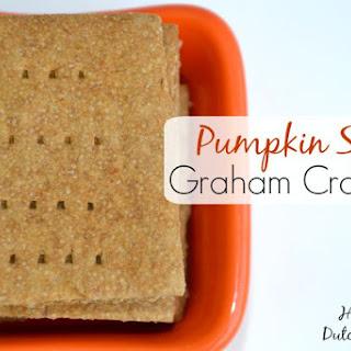 Pumpkin Spice Graham Crackers {gluten free, dairy free, nut free, egg free}