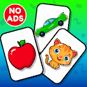 Flashcards Toddler Games for 2 and 3 Year Olds icon
