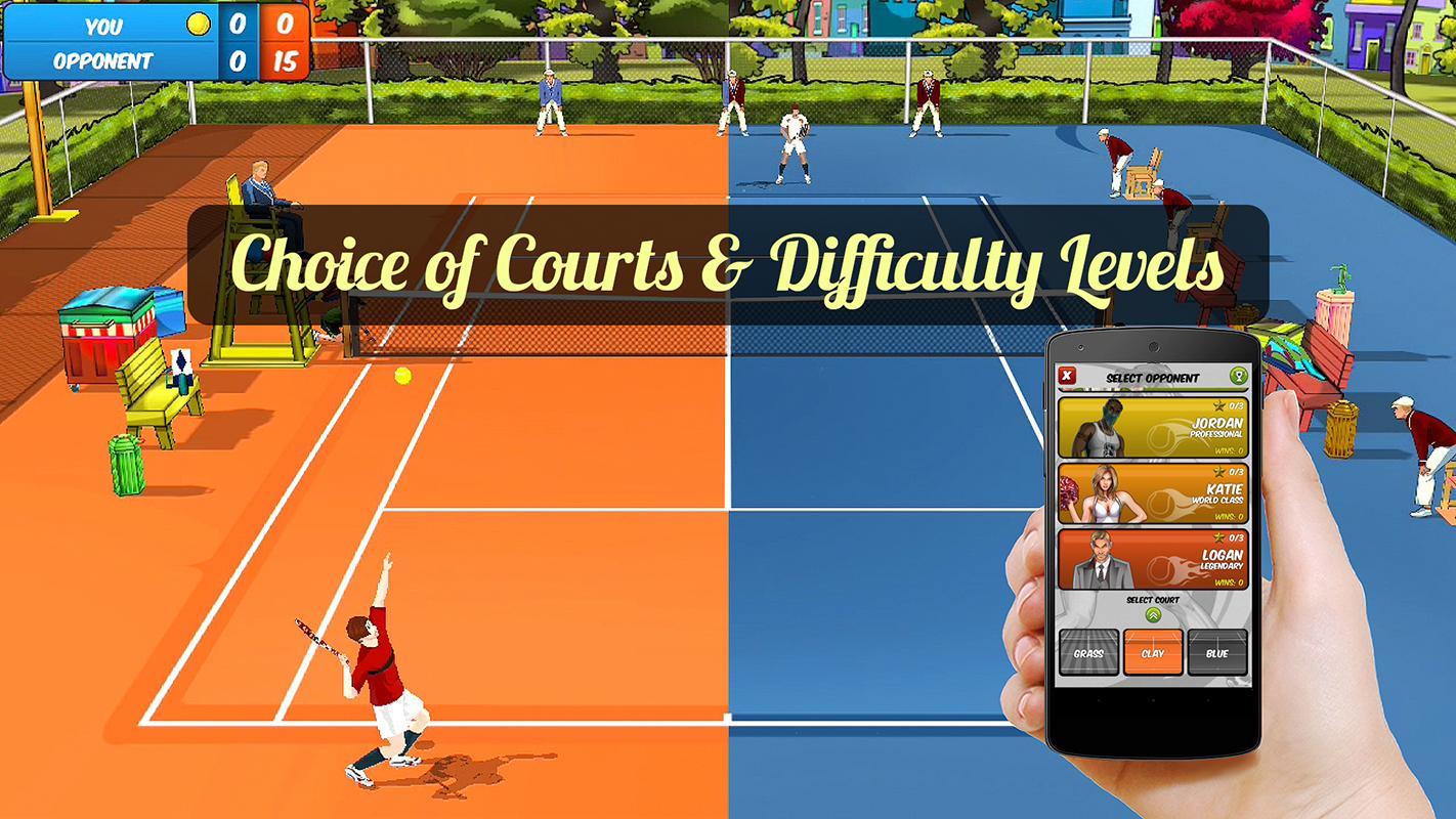 Motion Tennis Cast screenshot #4