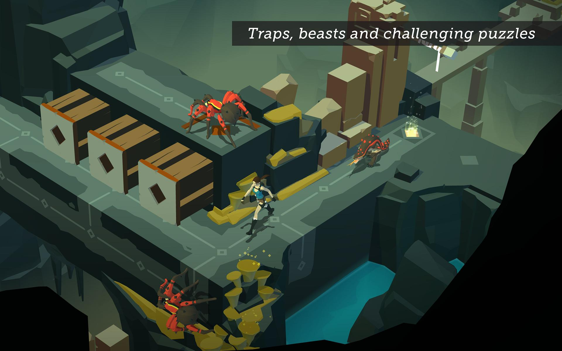 Lara Croft GO screenshot #12