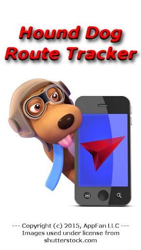 Hound Dog Route Tracker - Free