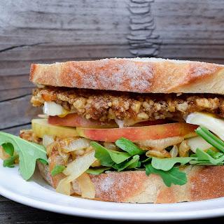 Walnut, Brie and Arugula Sandwich Recipe