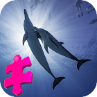 Beautiful Dolphins Jigsaw Puzzle Game