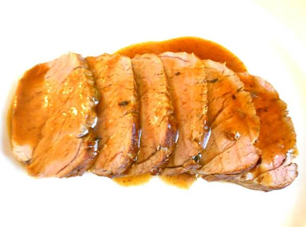 Roasted Pork Tenderloin With Lemon-herb Marinade Recipe
