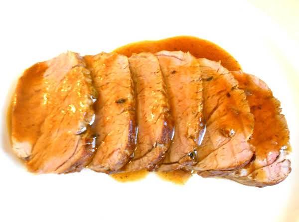 Roasted Pork Tenderloin With Lemon-herb Marinade