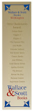 Photo: Wallace & Scott - Ian Fleming bookmark series  (reverse on some)