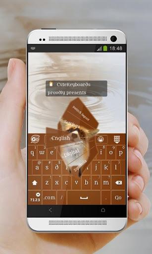 おさるのフォックス GO Keyboard