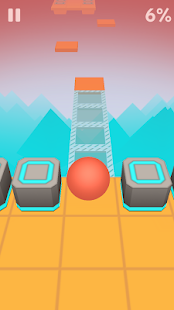 Game Scrolling Ball in Sky: casual rolling game APK for Windows Phone