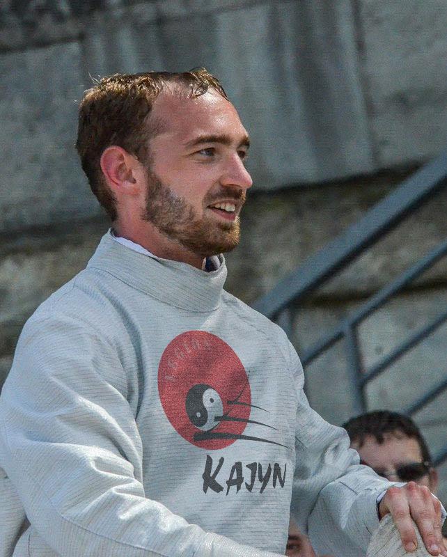 Maxime Duhaut professeur d'escrime au Kajyn Paris
