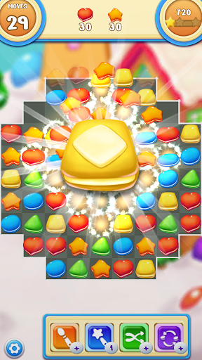 Cookie Macaron Pop : Sweet Match 3 Puzzle  screenshots 5