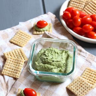 Basil Cream Cheese Dip.