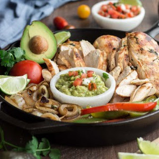 Authentic Chicken Fajitas
