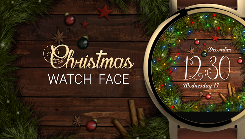 android Watch Face: Christmas Screenshot 5