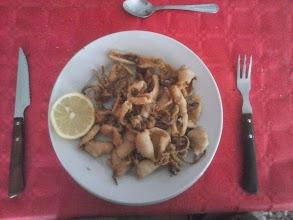 Photo: Etapa 22. Xipirons arrebossats. Restaurant Mencia. Ponferrada.