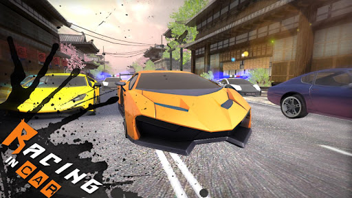 Racing In Car 3D APK MOD screenshots 2