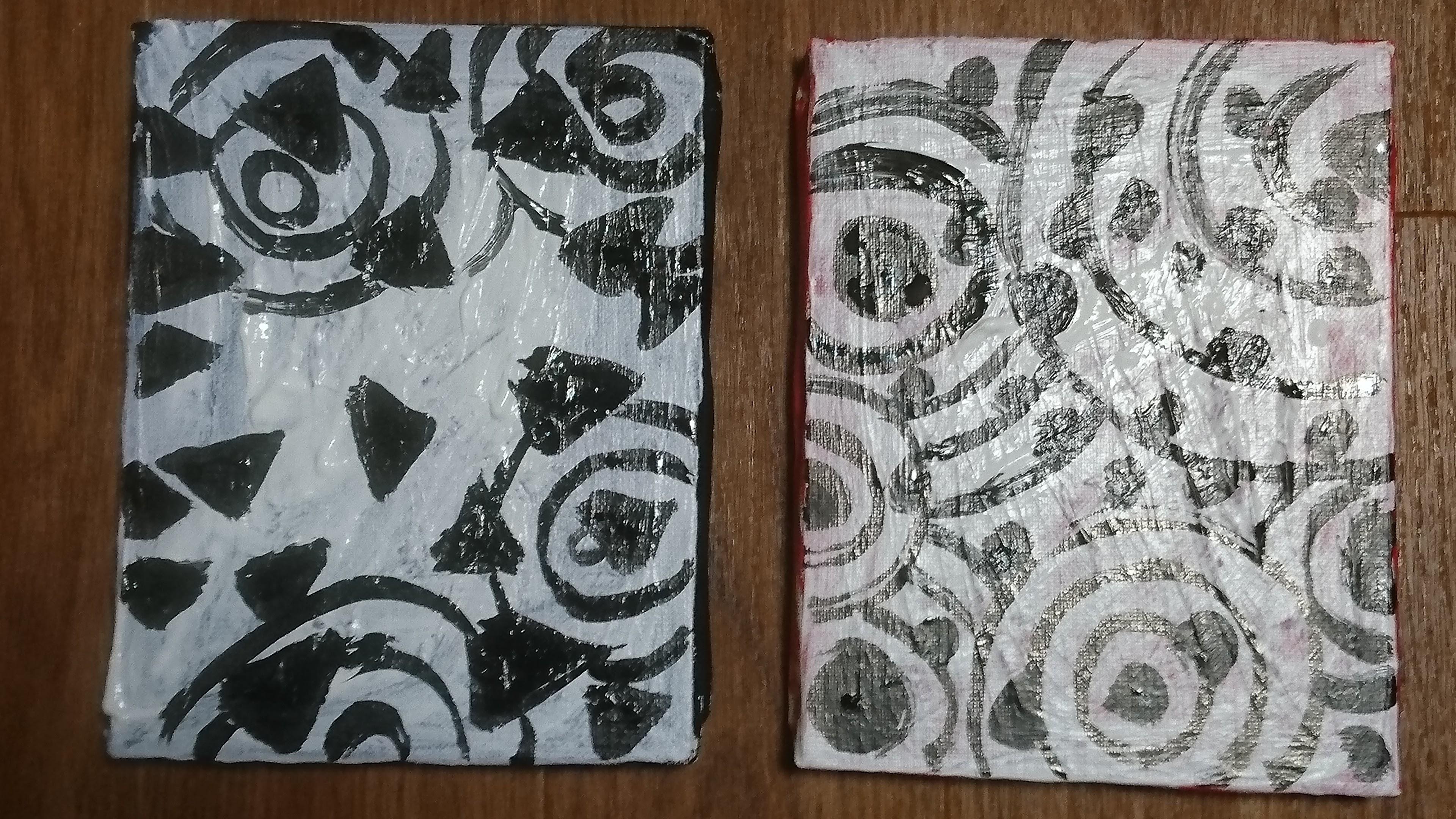 [伊藤洋子の美術] 失われた2つの小品と、 4つの新作「西」「東」「北」「南」。