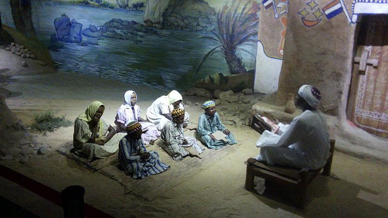 Экспонаты Нубийского музея