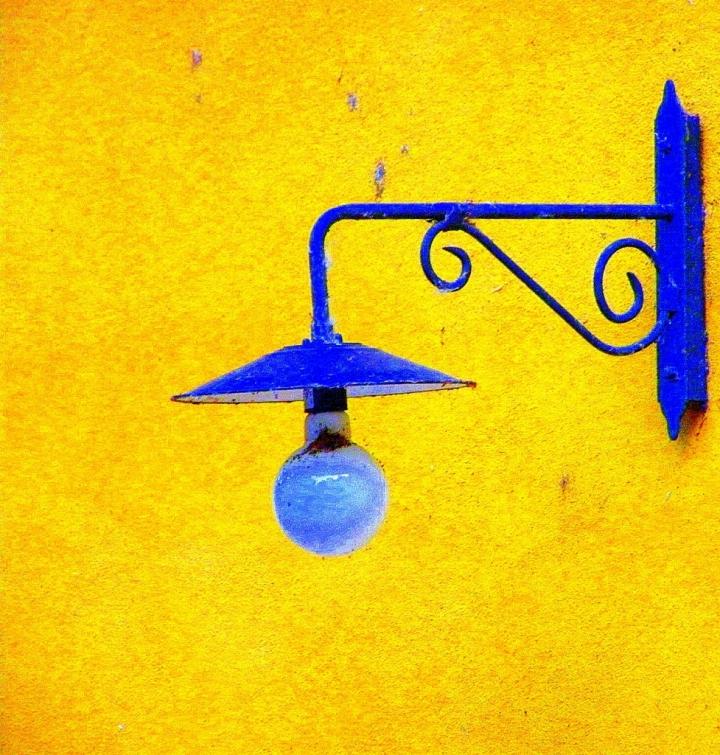 Non c'è blu senza giallo.... di Wilmanna