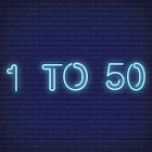 1to50 Game icon