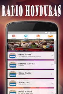 Honduras Radio - náhled