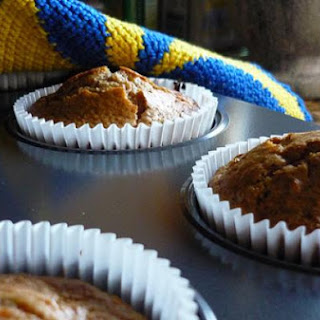 Protein Packed Carrot Muffins.