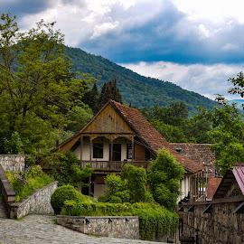 Heaven  by Anto Boyadjian - Buildings & Architecture Homes ( beauty, nature, armenia, dilijan, home )