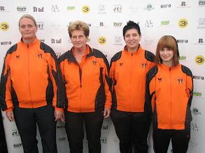 Photo: The Netherlands. Natasja Klarenbeek, Annie Jasper, Ilona de Kok and Anja Derks. (Photo: Bengt Svensson)