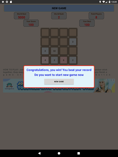 Game 2048 King screenshots 9