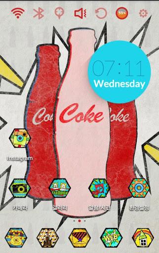 Pop Art - Coke Theme