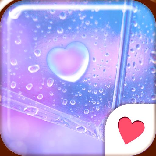 可愛換裝桌布★Heart Rain Drop 個人化 App LOGO-硬是要APP