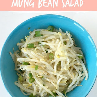 Mung Bean Sprouts Salad.