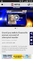 Screenshot of 14 News WFIE