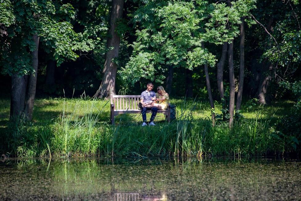 Arkadia, Romantyczny park w Arkadii, Polska