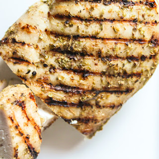 Italian Spice Rubbed Grilled Chicken.