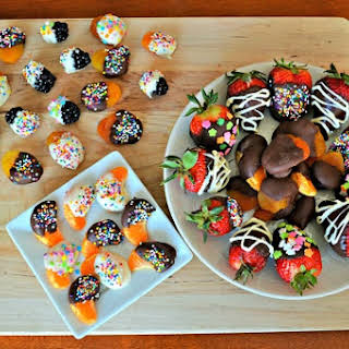 Chocolate Dipped Fruit.