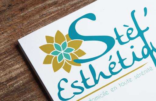 Pack communication artisans - Modernisation de l'image, nouveau logo, carte de visite et flyer - Communication Bellegarde-Poussieu - Stèf'Esthétique