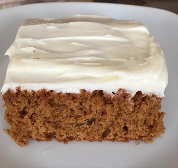 Ginger Cake With Orange Cream Cheese Icing Recipe