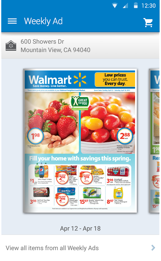 Walmart - screenshot