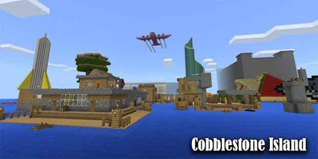 Map Cobblestone Island Minecraft Apps Bei Google Play - Minecraft captive spiele