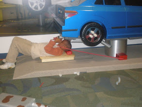 Photo: under the car