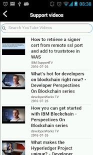 IBM Technical Support- screenshot thumbnail