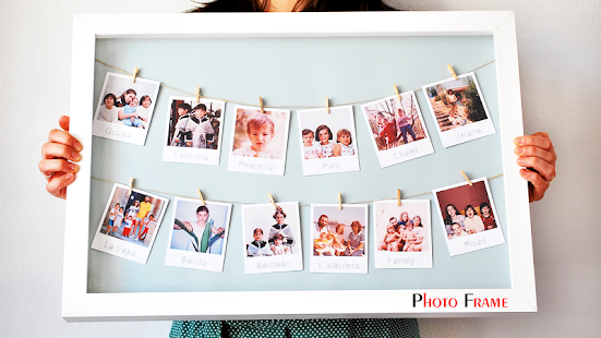 DIY Clothespin Photo Frame - Apps on Google Play